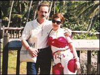 Давид и Мария Вайснберги в Доминиканской республике
