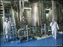 Uranium enrichment facility at Isfahan (2005)