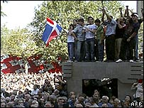 Demonstration in Tbilisi on 28 September