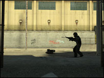 Screenshot from Counterstrike Source, EA
