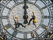 Big Ben maintenance work