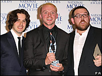 The cast of Hot Fuzz