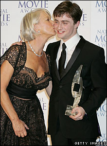 Dame Helen Mirren and Daniel Radcliffe