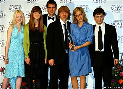 The cast of Harry Potter and the Order of the Phoenix