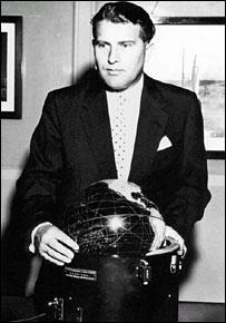 Wernher von Braun. Image: Redstone Arsenal.