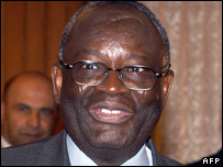 United Nations special envoy Ibrahim Gambari