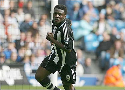Newcastle's Obafemi Martins