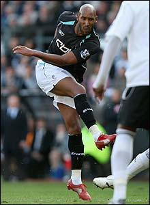 Nicolas Anelka scores for Bolton