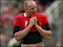 Wales captain Gareth Thomas
