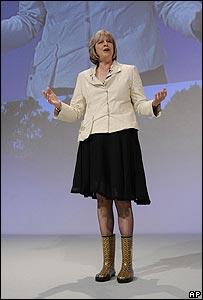 Theresa May's boots