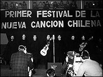 Festival de la Nueva Canci�n Chilena. Foto: Fundaci�n Victor Jara