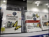Adobe Elements software on sale in store