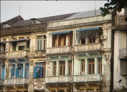 Construcciones coloniales / Foto: R. Trost