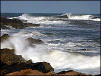 Breakers. Picture by Iain Maclean