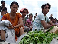 Tea pickers at Ramjhora