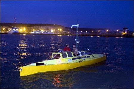 Moksha slipped into Dover harbour 30 September 2007. (Copyright Expedition360.com)