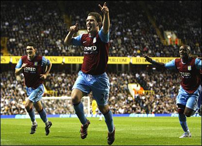 Craig Gardner puts Villa 4-1 ahead