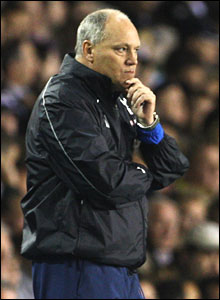 Martin Jol ponders his future on the sidelines