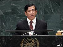 Burmese Foreign Minister Nyan Win - 1/10/2007
