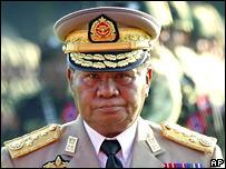 Senior Gen Than Shwe (27 March 2007)