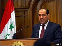 Iraqi Prime Minister Nouri Maliki - 19 September 2007