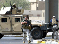 Blackwater guards in Iraq (file)