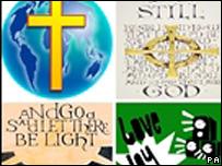 Bible-themed mobile phone wallpaper