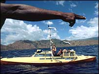 Moksha pedal boat