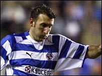 Glen Little in action for Reading