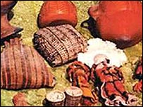 Objetos ceremoniales incas