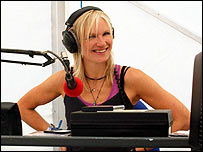 Jo Whiley on Radio 1