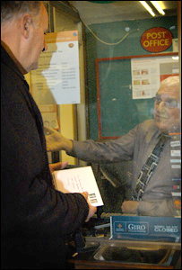 Postmaster Ken McPherson