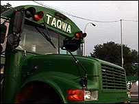 The Taqwa tour bus