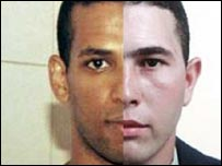 A composite image of Hussain Osman and Jean Charles de Menezes