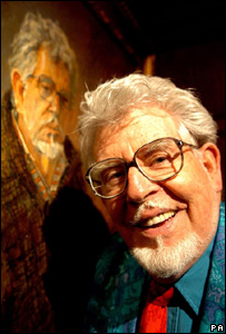 Rolf Harris and portrait