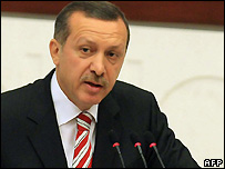 Turkish Prime Minister Recep Tayyip Erdogan - 31/08/2007
