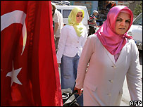 Women in Ankara - 20/7/2007