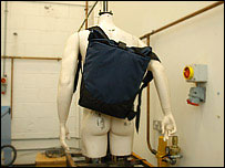 Rucksack on dummy