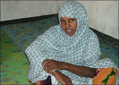 Somali woman Mrs Hibo Awale