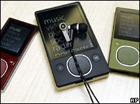 New Zune digital media players