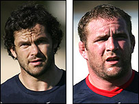 Andy Farrell and Phil Vickery