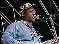 Bhundu Boys perform at Womad 2002