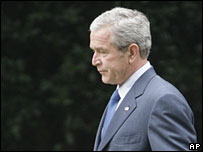 President George W Bush (file picture)