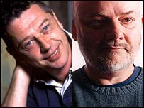 Andy Kershaw and John Peel