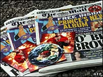 Prince album with Mail on Sunday