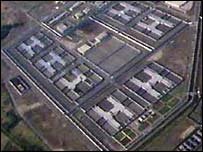 The former Maze prison in Northern Ireland