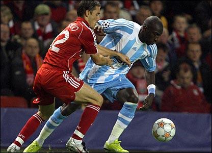 Fabio Aurelio, Liverpool; Mamadou Niang, Marseille