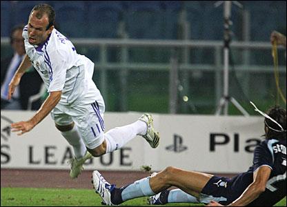 Arjen Robben, Real Madrid; Guiglielmo Stendardo, Lazio