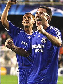 John Terry (right) and Steve Sidwell