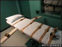 Death chamber in US. File photo